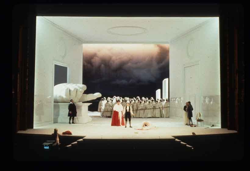 1982 performance of La Clemenza di Tito at La Monnaie